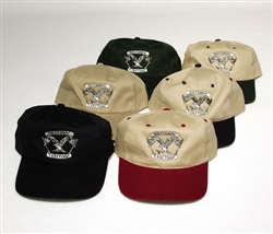 National Tattoo Hat KHAKI / CARDINAL