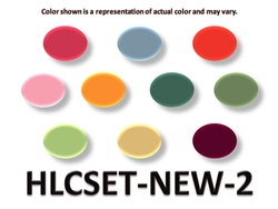 2 oz. National Homogenized Liquid Color Set-NEW TATTOO INK COLORS