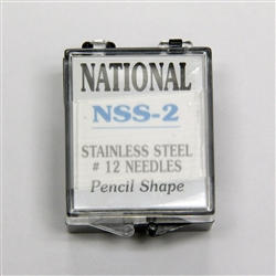 NSS-2 Stainless Steel #12 Tattoo Needles