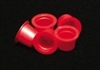 Medium Red Plastic Caps (500)
