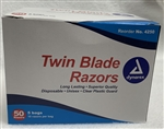 Disposable Twin Blade Razors