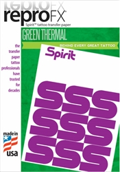 "Green Thermal Copier Paper 8 1/2"" x 14"""