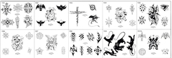 Surkov Tattoo Flash SET 1 (10 SHEETS)