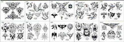 Surkov Tattoo Flash SET 3 (10 SHEETS)