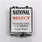 Select Stainless Steel #12 Tattoo Needles