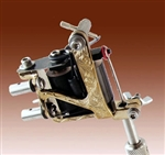National Tattoo Supply Deluxe Engraved Tattoo Machine Head - Quality Made in the USA