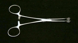 "Sponge (Foerster) Forceps 3/8"" Head NO TEETH"