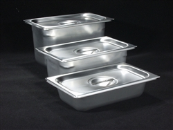 Stainless Steel Tray with Lid LARGE