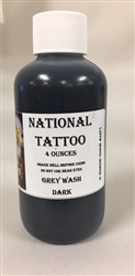 National Grey Wash Dark Ink