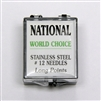 World Choice Stainless Steel #12 Loose Tattoo Needles