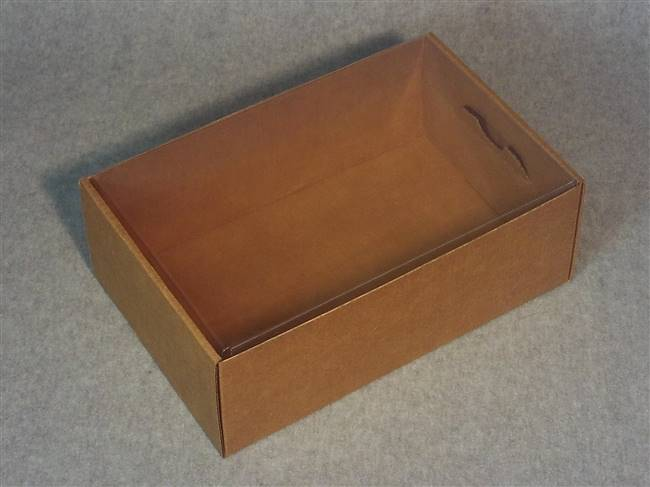 Acetate Covered Kraft Box