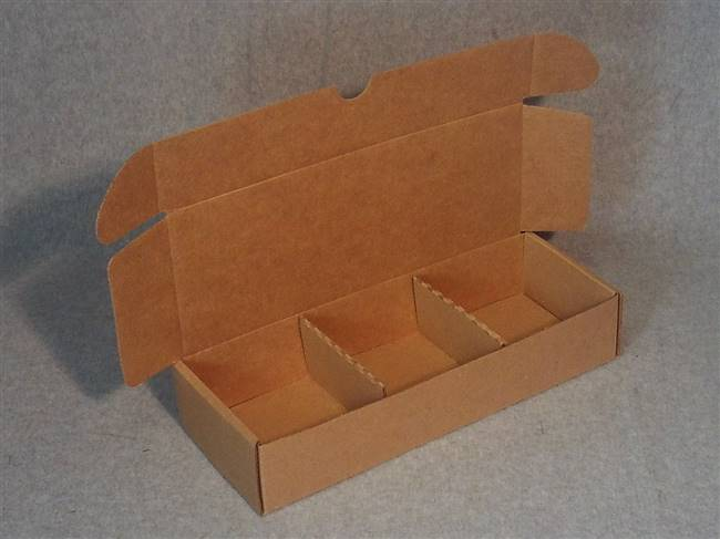 Kraft Soap Gift Box with 2 Partitions