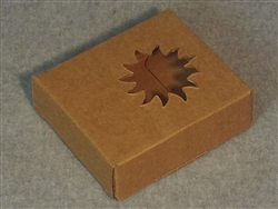 Kraft Soap Box with Sun Window