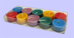 Sparkling Clear Acetate Box for 10 Tealight Candles