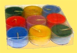 Sparkling Clear Acetate Box for 9 Tealight Candles