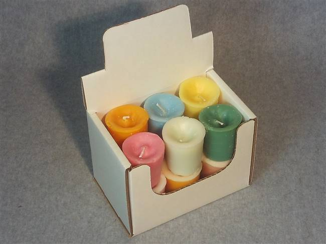 Votive Display Box holds 12 Votives