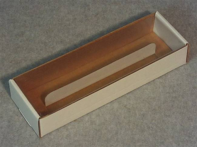 Taper Candle Gift Boxes - Clear Acetate Cover