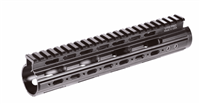 UTG PRO Model4/AR Mid Length Super Slim Free Float Handguard 9""