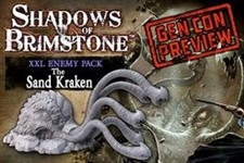 Sand Kraken- XXL Enemy Pack: Shadows of Brimstone Exp