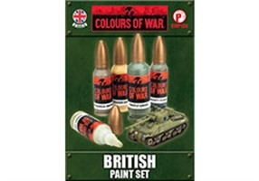 Paint set British Armor