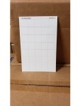Blank Counter Sheet 1 Inch