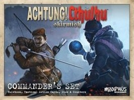 Achtung Cthulhu Skirmish Game - Commander's Set