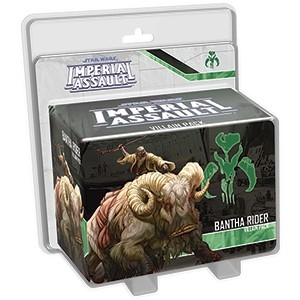 Star Wars Imperial Assault: Bantha Rider Villain Pack
