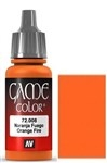 008 Orange Fire Vallejo Game Color Paint