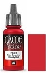 010 Bloody Red Vallejo Game Color Paint