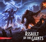Assault of the Storm Giants (Std. Edition): dungeons and Dragons Boardgame