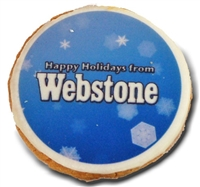 "2"" Round Photo/Logo Cookies, dozen"