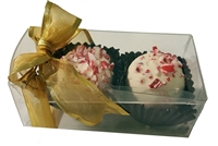 Chocolate Holiday Truffles - Gift Box of 2