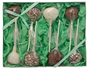 Cake Pops - Classic Designs, Gift Box of 8