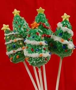 Cake Pops Christmas Tree , EA