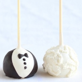Cake Pops - Bride & Groom