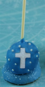 Cake Pop Favors - Cross, EA