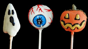 Cake Pops - Halloween Designs , dozen