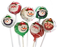 Cake Pops - Holiday Characters