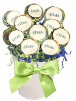 Cake Pops Logo, Gift Bouquet of 12