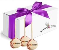 Logo Cake Pops - Gift Bouquet of 12
