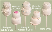 Cake Pops - Wedding Cake, EA