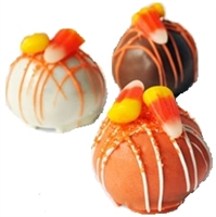 Cake Truffles Halloween Designs, one dozen
