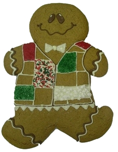 Giant Gingerbread Man Gift Box