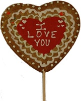 Giant Heart Valentine's Cookie Pop, Personalized