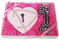 Giant Lock & Key Cookie Gift Box