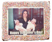 "8""x 10"" Rectangle Giant Photo/Logo Brownie"