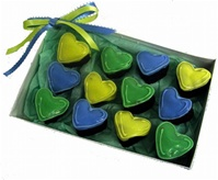 Heart Brownie Bites Gift Box