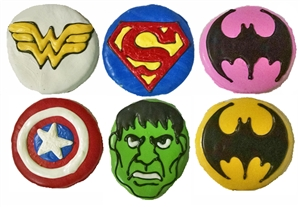 Hand Dec. Cookies - Avenger Super Heroes