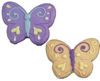 Hand Dec. Cookies - Butterfly