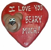 "Hand Dec. ""Beary Much"" Cookie"